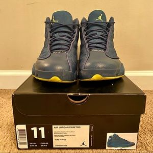 "Air Jordan 13 Retro ""Squadron Blue"" - Sz. 11"